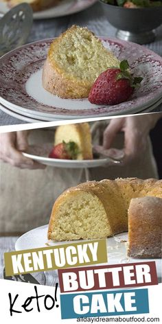 The original and STILL the best! This amazing keto Kentucky Butter Cake will blow your mind. It's one of the best grain-free and sugar-free cakes around, and only net carbs per serving. Low Carb Sweets, Low Carb Desserts, Low Carb Recipes, Dessert Recipes, Dessert Ideas, Cupcake Ideas, Healthy Sweets, Cupcake Recipes, Healthy Meals