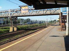 yarobolszewo: Gdynia Stocznia #photography #railyway #rail #peron #skm #poland