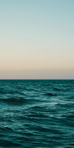 Adorable sea, calm surface, body of water, sunset, 1080x2160 wallpaper