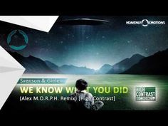 Svenson & Gielen - We Know What You Did (Alex M.O.R.P.H. Extended Remix)...