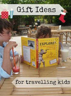 Christmas Gift Ideas For Travelling Children. Christmas Gift ideas for kids on the move. http://worldtravelfamily.com