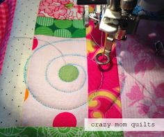 crazy mom quilts: Machine Quilting 101: marking your quilt