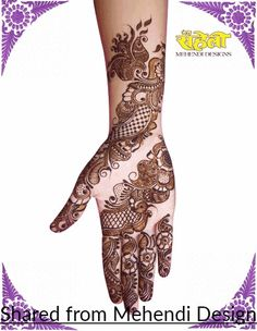 Blusshhh😍 Simple Arabic Mehndi Designs, Mehndi Designs 2018, Wedding Mehndi Designs, Beautiful Mehndi Design, Mehndi Designs For Hands, Henna Designs, Mehndi Tattoo, Henna Tattoos, Henna Mehndi