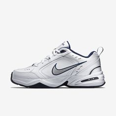 ade53a2f02bb DURABLE AND VERSATILEThe Nike Air Monarch IV (Extra Wide) Lifestyle Gym Shoe  delivers lightweight cushioning