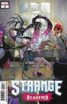 Marie Laveau, Skottie Young, Georges Wolinski, Brother Voodoo, Chaos Magic, Mark Bagley, Marvel News, The Ancient One, New Warriors