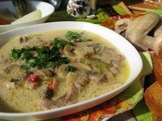 Суп а-ля Строганов - согревающий, наваристый, ароматный!