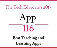 "*The Tech Edvocate is pleased to produce its ""Best of the Best"" resource lists. These lists provide our readers with rankings for edtech related blogs, twitter accounts, influencers, products, etc. These lists are meant to be fluid, and for that reason, they are regularly updated to provide up to the moment information.* Technology is changing the way we teach and learn at a rapid speed. So, how can teachers make learning more interactive and more fun with technology? True, teachers can make…"