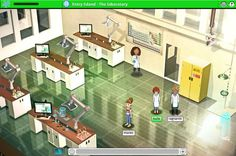 Game for Science  is a virtual world for kids dedicated to getting them excited about  science and technology.
