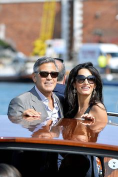 Everything you need to know about George Clooney's wedding weekend: