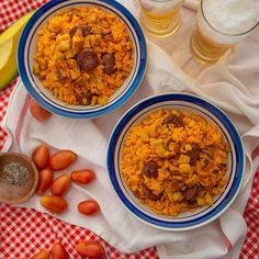 Photo by Sagrario Matos on March 02, 2021. May be an image of food and indoor. #Regram via @CL73as9gwNp Recetas Salvadorenas, Recipe Images, Chana Masala, Ethnic Recipes, March, Indoor, Food, Gastronomia, Ecuadorian Recipes