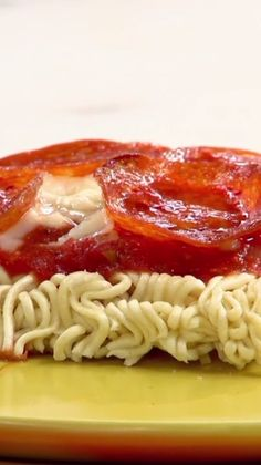 Your new favorite late-night snack: Ramen Pizza!