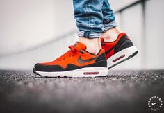 Nike Air Max 1 Ultra 2.0 Essential Red   Black  sneakers  sneakernews   StreetStyle 19a30f090