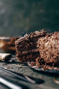 If you are a chocoholic, this soft and moist Triple Chocolate Cake recipe is made for you. Expect three times intense chocolate taste. Moist chocolate cake - amazing chocolate buttercream frosting - chocolate sprinkles on top. Very easy to make.