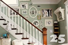 Staircase Wall Decor Design, Pictures, Remodel, Decor and Ideas - page 11 House Design, House, Home, Staircase Wall, Family Photo Wall, Stair Walls, Family Pictures On Wall, Home Diy, Inspiration Wall
