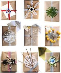 goring hotel london: 7 Recycled Christmas wrapping ideas