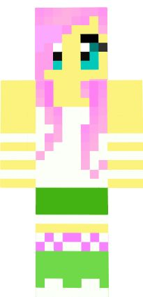 Hi Guys This Is A Animation Of My New Skin DJCloudy Minecraft - My little pony skins fur minecraft
