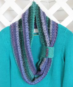 Mr. Micawber's Recipe for Happiness: Whimsicality Cowl Crochet Pattern & Tutorial