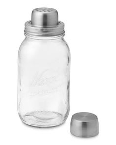 Mason Jar Cocktail Shaker - $29.95 - Williams Sonoma - OBVIOUSLY Have to Have this!!!!