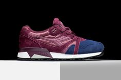 """Diadora is bringingout plenty of colorful footwear options for the fall/winter season, one of which includesthis two-tonedmaroon and navy N.9000 model. Dubbed the """"Poseidon,"""" the sneaker embodies I..."""