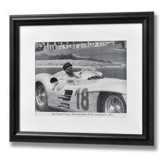 Juan Manuel Fangio Framed Print | From Baytree Interiors