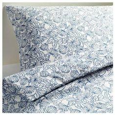Ikea Bladvass Twin Duvet Cover and Pillowcase