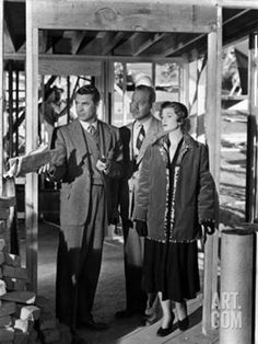 Cary Grant and Myrna Loy in Mr Blandings Builds His Dream House