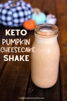 Cheesecake Shake Recipe Keto Pumpkin Cheesecake Shake - This thick and creamy keto pumpkin cheesecake shake will become your new fall favorite drink! Low Carb Drinks, Diet Drinks, Healthy Drinks, Eating Healthy, Healthy Food, Clean Eating, Cheesecake Shake Recipe, Pumpkin Cheesecake, Keto Smoothie Recipes