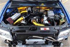Custom B5 S4 Single Turbo Setup