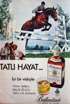 OĞUZ TOPOĞLU : ballantines viski 1975 nostaljik eski reklamlar Retro Ads, Vintage Ads, Vintage Prints, Turkey History, Marketing Words, Istanbul City, Cigars And Whiskey, Old Advertisements, Ads Creative