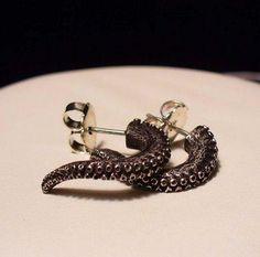 Boucles d'oreilles tentaculaires