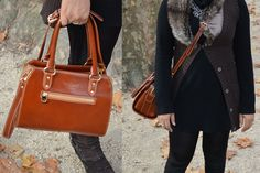 Die Handtasche Miranda im Einsatz. Messenger Bag, Satchel, Luxury, Fashion, Christmas Presents, Pouch, Shoulder, Handbags, Leather