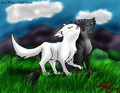 Jayfeather and Half Moon, I'm not a fan of this couple, I ship Jayfeather and Briarlight