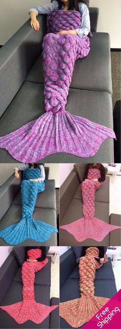 #FreeShipping #Mermaid #Blanket