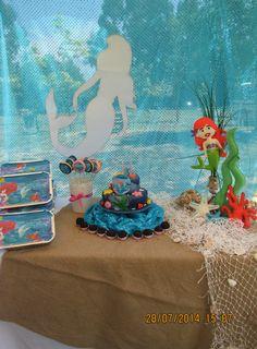 Princesa Ariel decoração