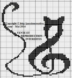 Free cross stitch: Musical Cat