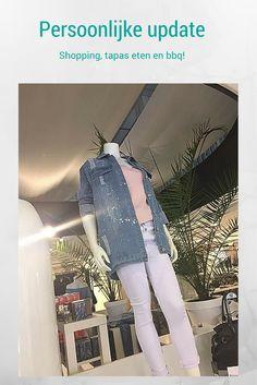 Een nieuwe persoonlijke update. Ik ging shoppen, tapas eten en bbq'en.  #fashion #spijkerjack #shoppen #shopping #destroyedspijkerjack #destroyedclothes #destroyed