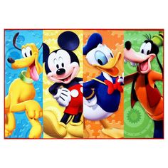 Disney Mickey Mouse Clubhouse Rug HD Digital MMCH Kids Room Decor Bedding Area Rugs, Standard * Read more at the image link-affiliate link. Mickey Mouse Room, Disney Mickey Mouse Clubhouse, Mickey Mouse And Friends, Minnie Mouse, Kids Area Rugs, Kids Play Area, Kids Room, Disney Designs, Kindergarten