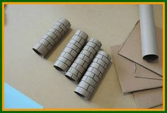 Medieval Crafts for Kids - Your very own castle out of cardboard!