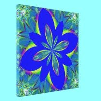 Fractalscope 9 canvas prints by Artists4God,  Prices for my products start at about $1.00!