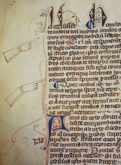 All buttoned up. Lambeth MS 24