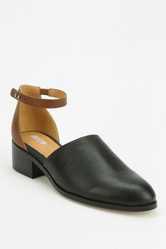 Ecote Psych Vamp D'Orsay Heel #urbanoutfitters