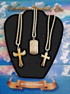 Men's/women's Fashion Gold & silver stainless steel jewelry Necklace & Pendants #ChristianHouseJeweley #Pendant