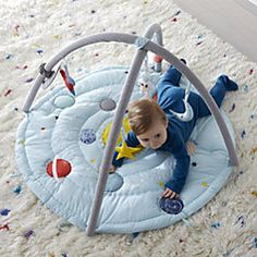 Outer Space Baby Activity Gym - Image 1 of 10 Outer Space Nursery, Space Themed Nursery, Themed Rooms, Nursery Room, Cs Lewis, Baby Play, Baby Toys, Kids Toys, Space Baby Shower