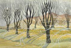 CHARLES BURCHFIELD Trees in Winter