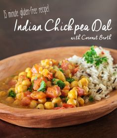 Indian Chickpea Dal with Coconut Broth ~ http://steamykitchen.com