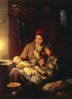 Mother and children/ Johann Georg Meyer von Bremen