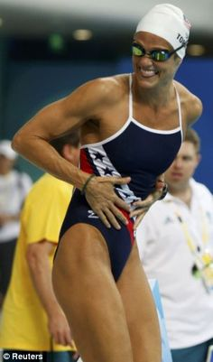 Dana Torres- seriously, silver medal at age 41? Barely missing London Olympics at age 45? How can you not be inspired? ~t