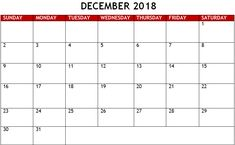 The Best December Calendar Templates Images On Pinterest In - Word 2018 templates