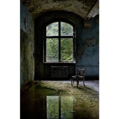 Invaded - Beelitz Heilstätten : Abandoned Photography : opacity.us ❤ liked on Polyvore featuring abandoned