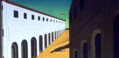 Giorgio de Chirico 1888 – 1978 misterio y melancolía de una calle
